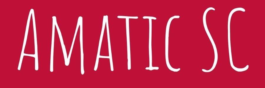 Amatic SC Font
