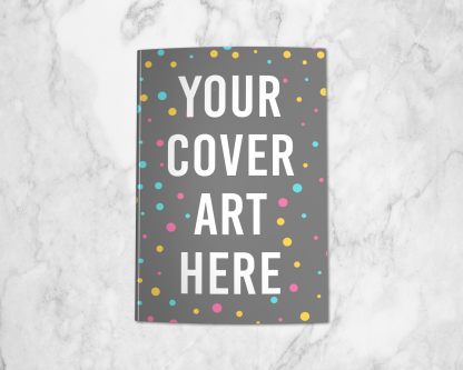 6x9 Paperback Mockup using your KDP cover art